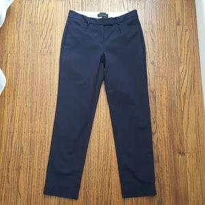 Talbots Hampshire Curvy Navy Pants EUC